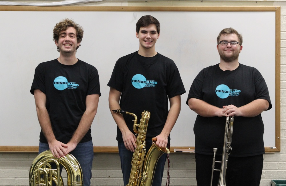 OU Honor Band a noteworthy achievement for CNE band trio