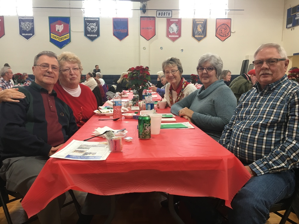 Seniors gather for 40th annual holiday luncheon at Clermont Northeastern