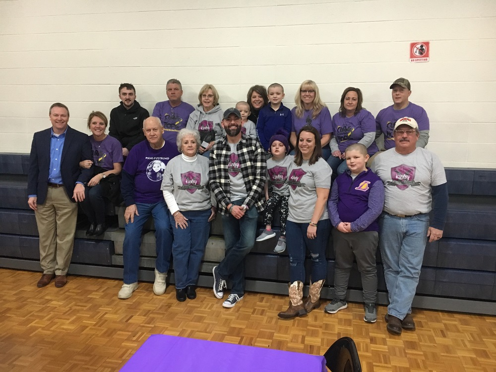 'An amazing night:' Community comes out for Kinley Sexton