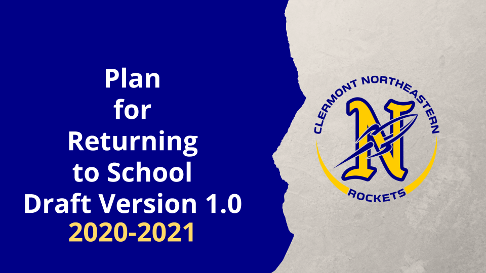 Return to School Plan Draft Version 1.0