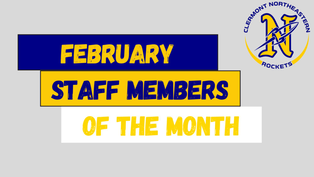 Staff Members of the Month: February