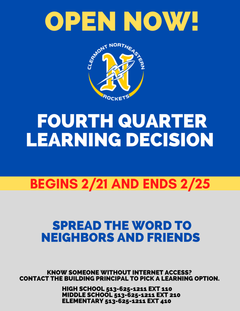 4th Quarter Learning Decision