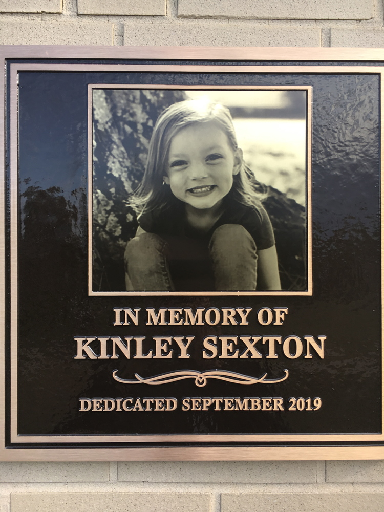 Playground dedication invokes Kinley's spirit, continues her fight