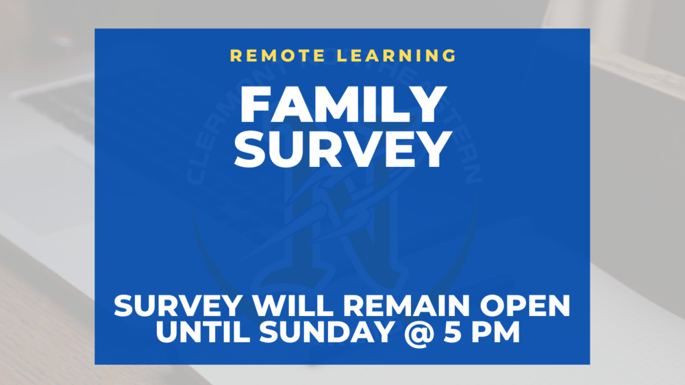 Remote Learning Family Survey