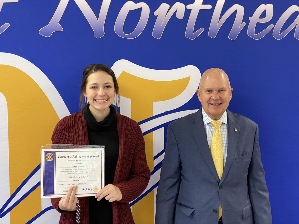 High School Student Recognized as Student of the Month
