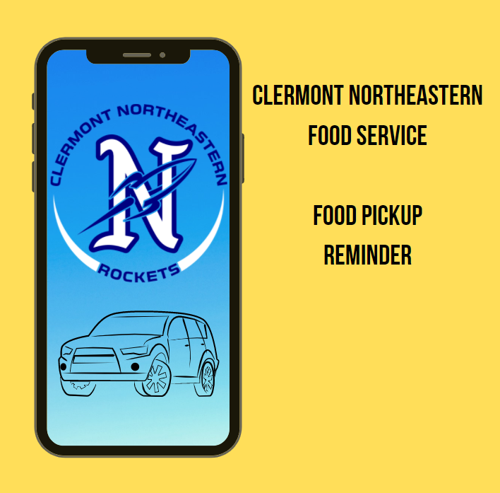 Food Service Pickup Reminder!