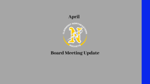 April Board meeting