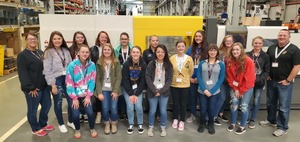 ​Clermont Northeastern girls cross bridge into engineering at Milacron