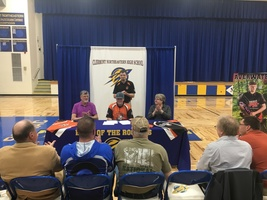​Averwater on target with college archery scholarship