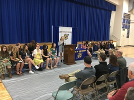 ​Clermont Northeastern inducts 12 students into National Honor Society