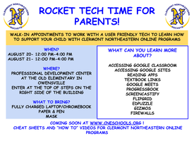 Parent Tech Training