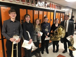 ​Individually or as a group, CNE musicians make themselves heard at OMEA event