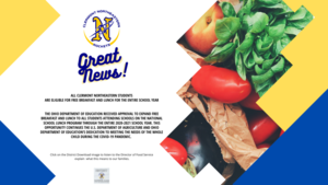 District Download: Great News for Food Service
