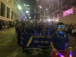 Blink parade an eye-opening experience for Marching Rockets