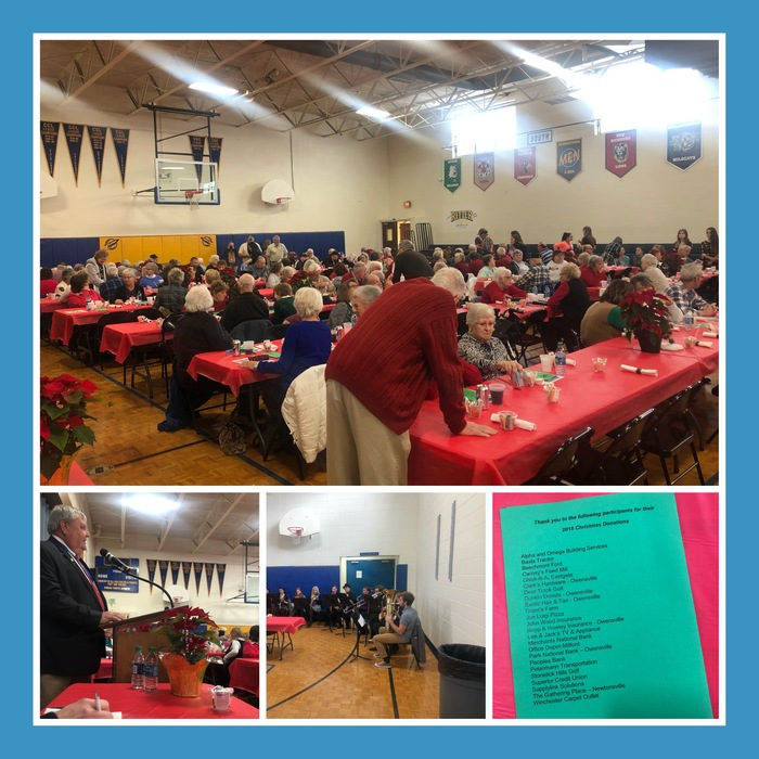 Senior Citizens Lunch Photos