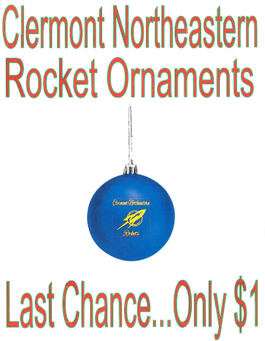 Rocket Ornaments only $1