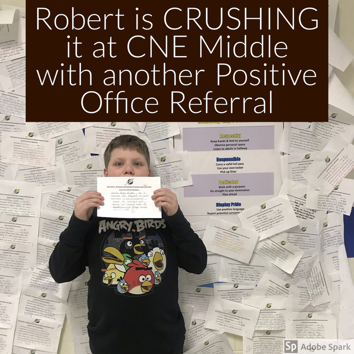 Positive Office Referral