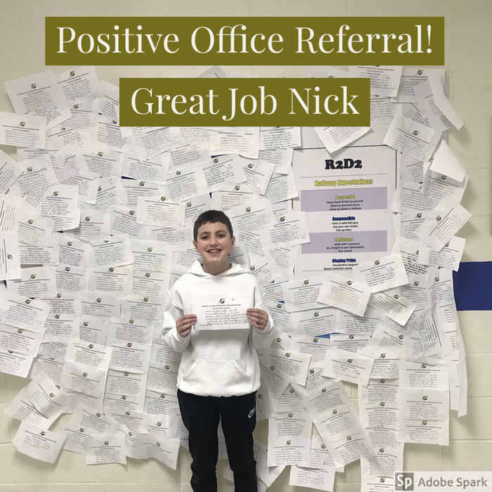 Great job Nick!