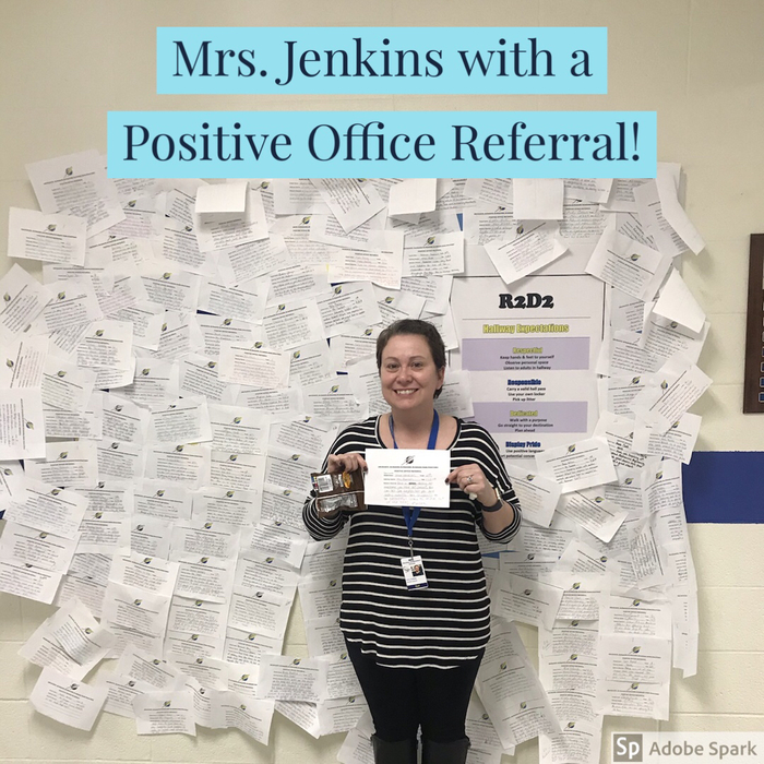 Great Job Mrs. Jenkins