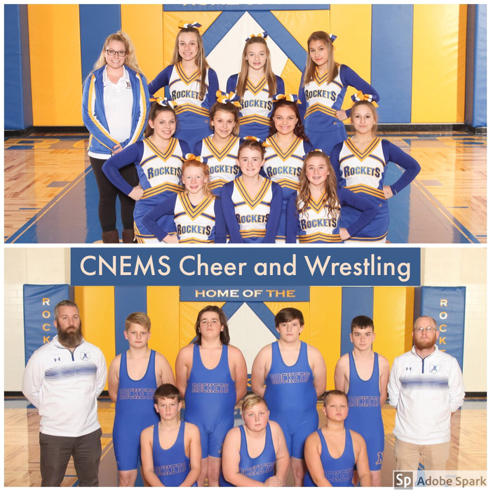 CNEMS Cheer and Wrestling