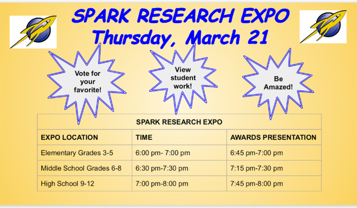 Spark Research Expo!
