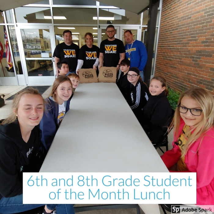 Student of the Month Lunch