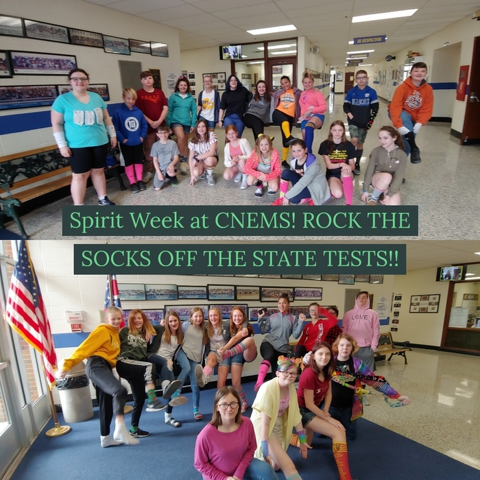 Spirit Week at CNEMS!