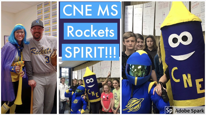 We are so proud of our CNE MS students and staff!!!