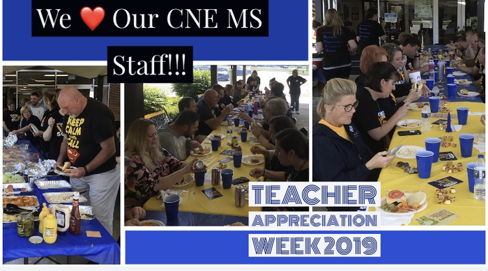 We ❤️ our CNE MS Staff!!!