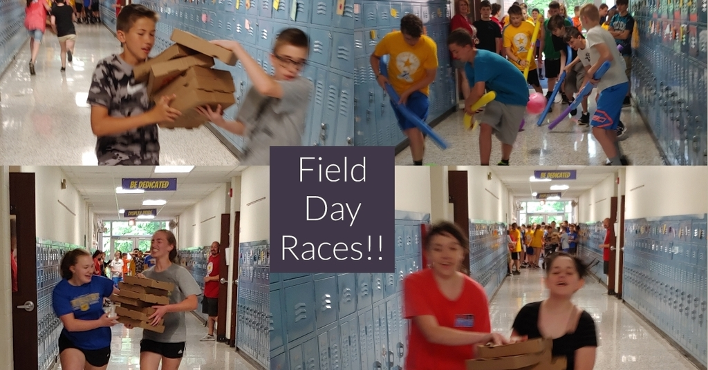 Races at Field Day