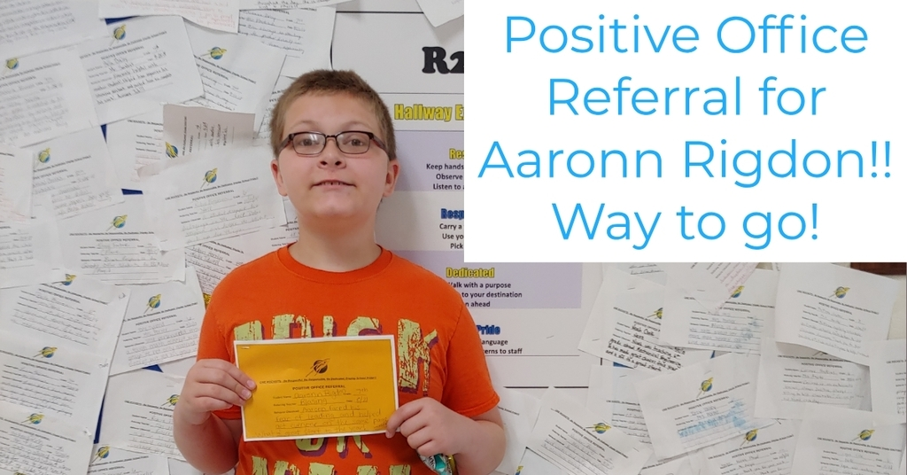 Positive Office Referral!!