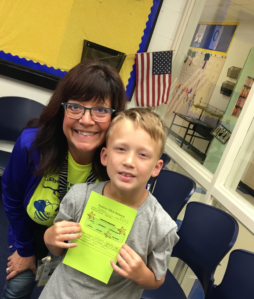 Kindness matters! Positive Office Referral!