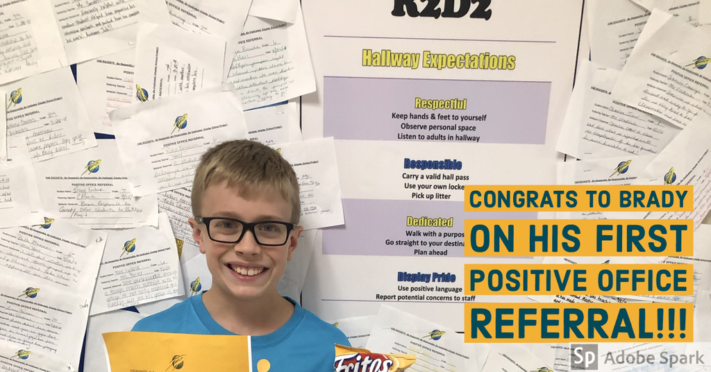 Congrats on your positive office referral!!!