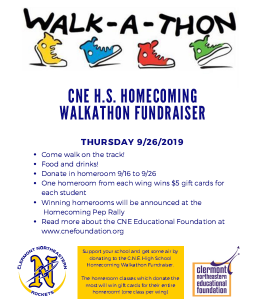 Walk-A-Thon Flyer