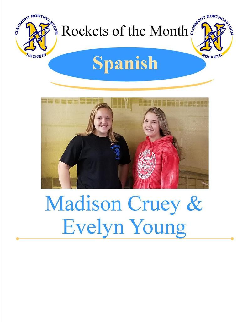 Spanish - Madison Cruey and Evelyn Young