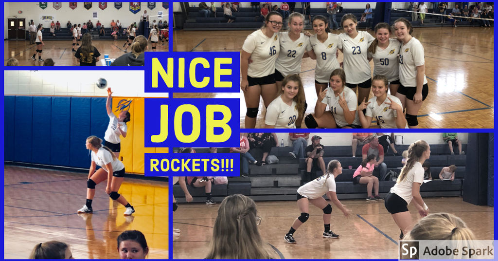 Great Job Lady Rockets!!!