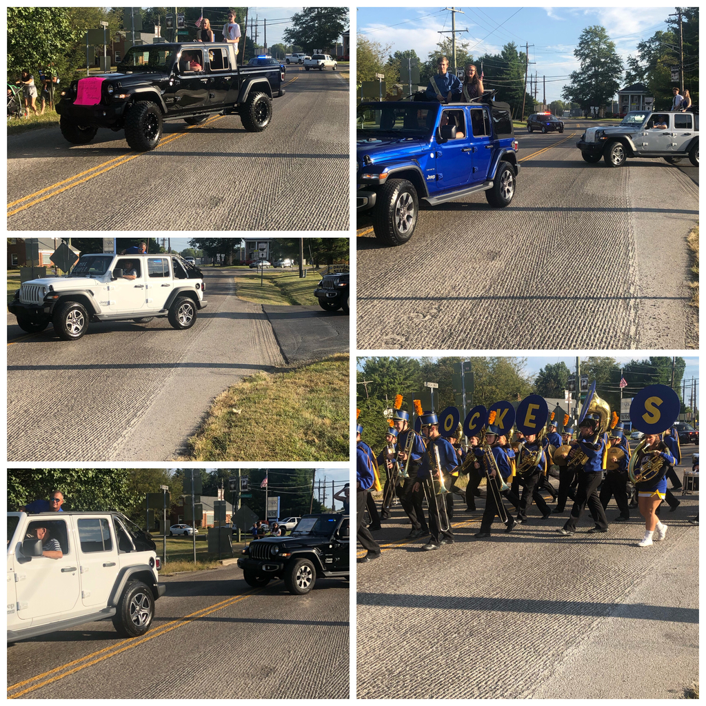Homecoming Court. Thanks to Jeff Wyler Eastgate for the use of their vehicles.