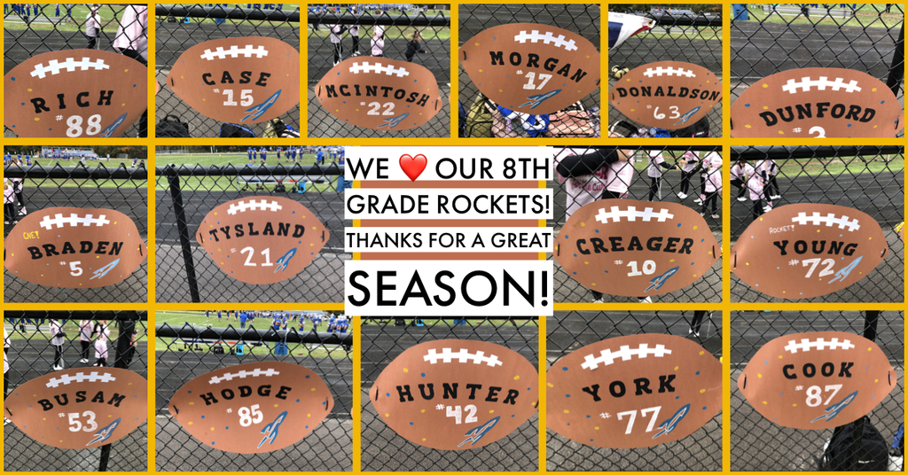 Thanks for a great season!