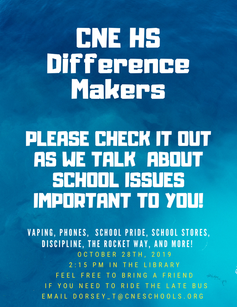 Difference Makers Flyer