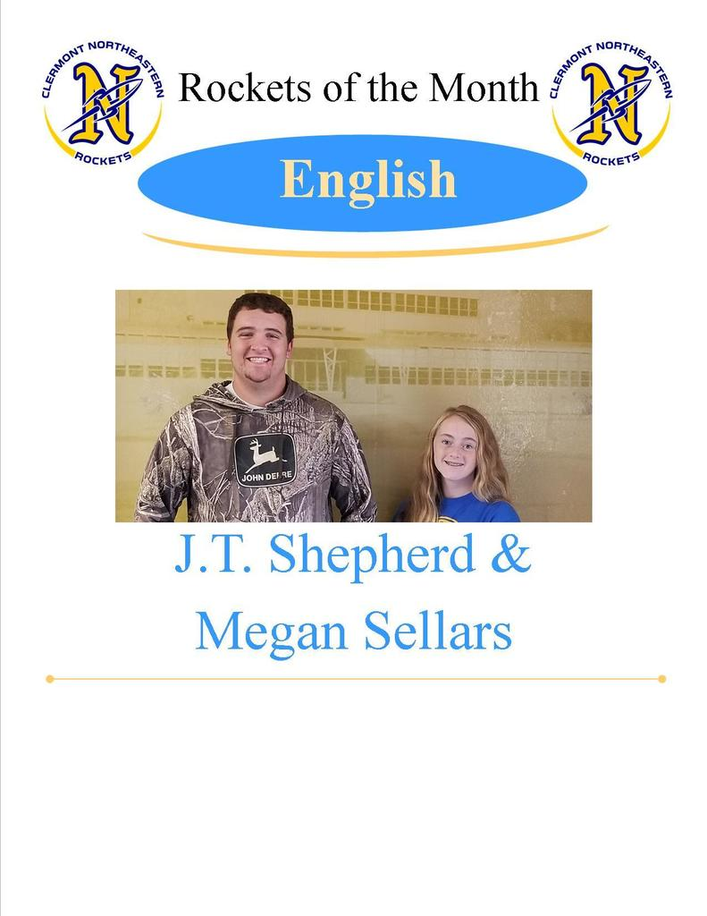 English Students of the Month