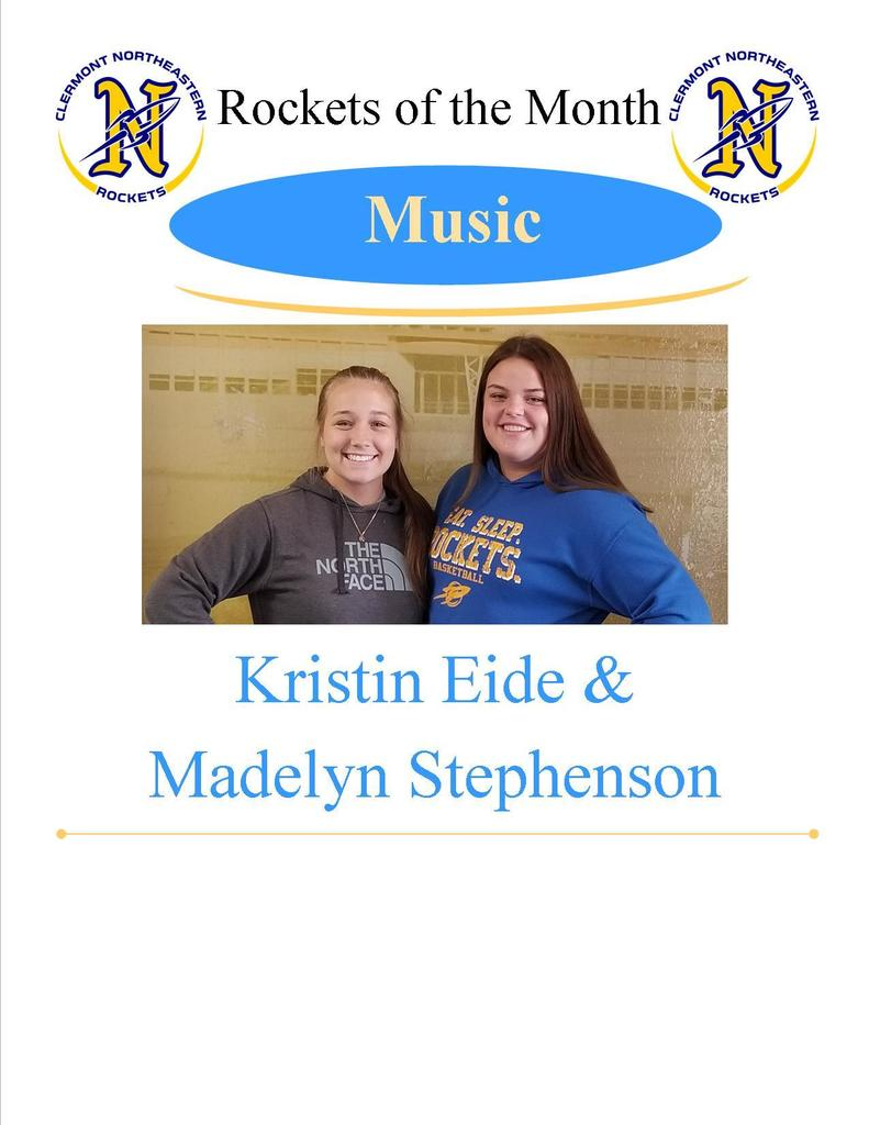Music Students of the Month