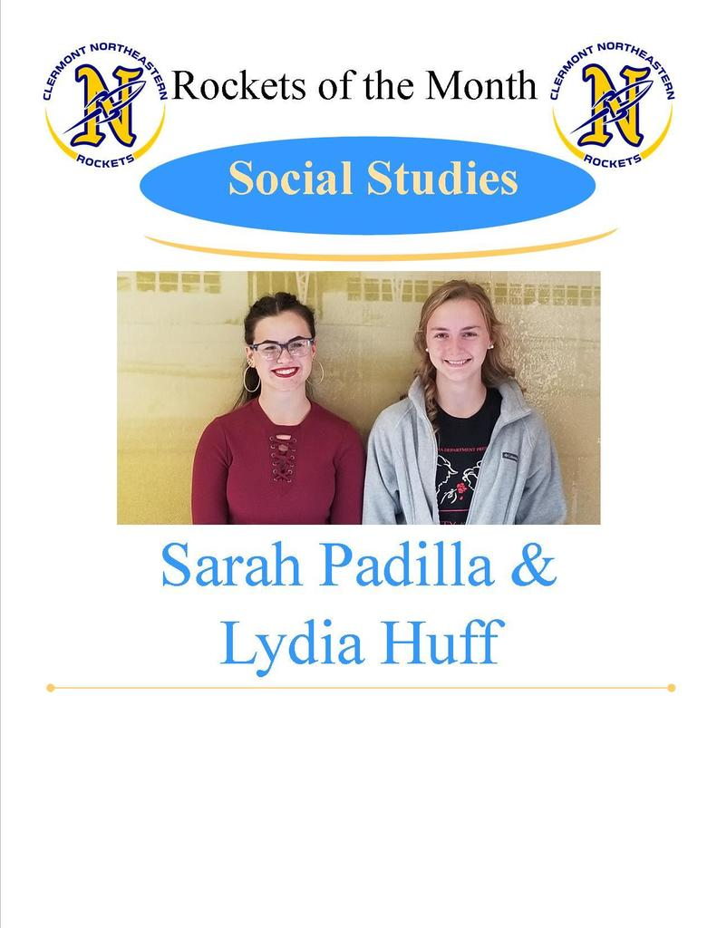 Social Studies Students of the Month
