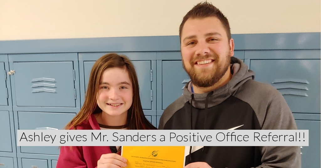 Positive Office Referral!!!