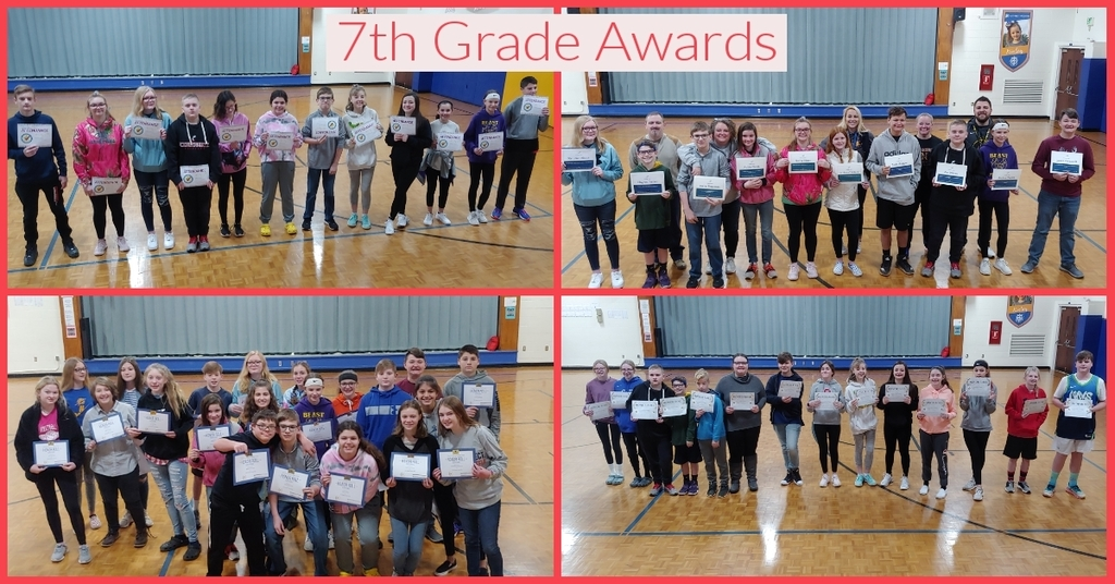 7th Grade Rocket Academic Rewards