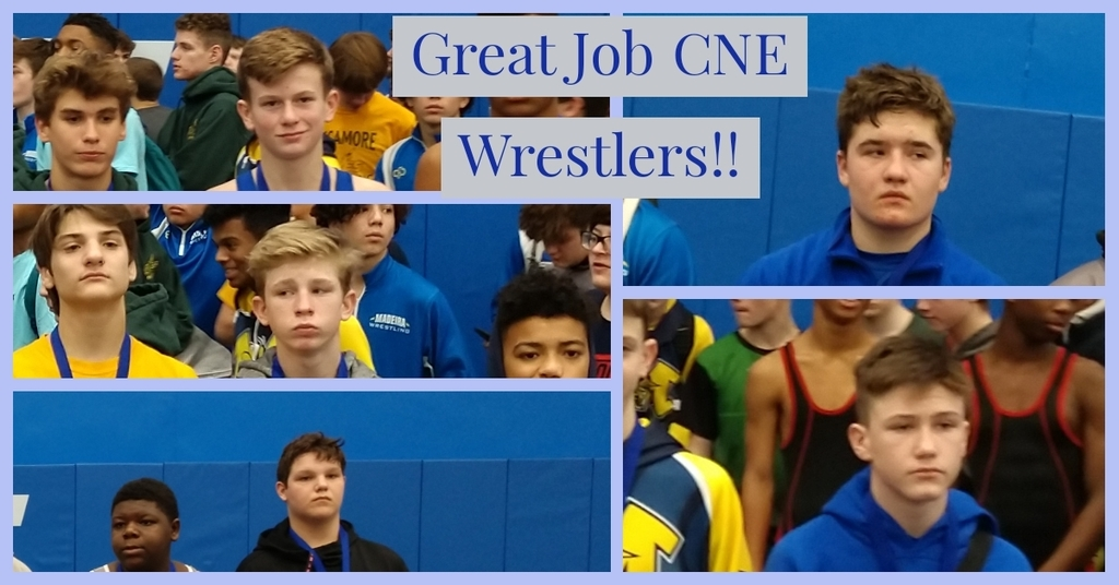 Great Job CNEMS Rocket Wrestlers!