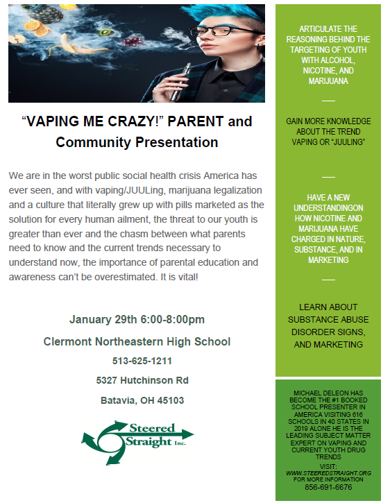 Parent Vaping Flyer