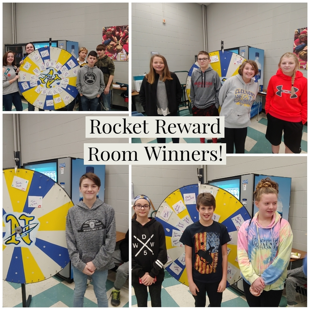 Rocket Reward Room Winners!