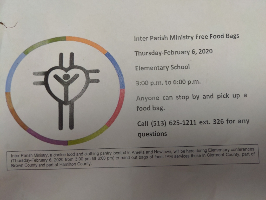 information about Inter Parish Ministry Free Food Bags