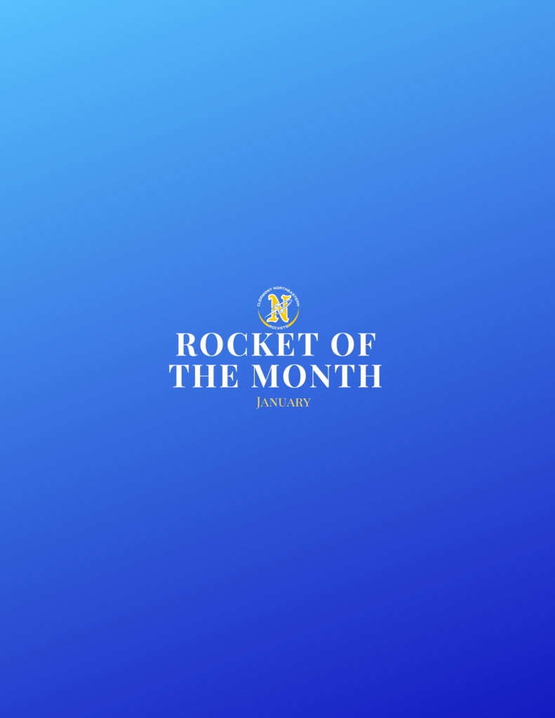 Rocket of the month.