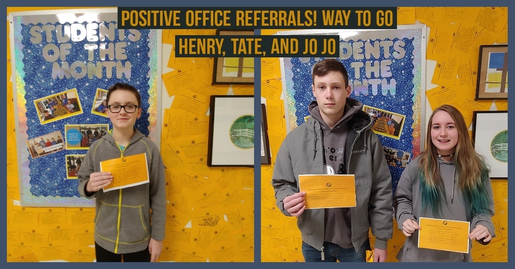 Positive Office Referrals!